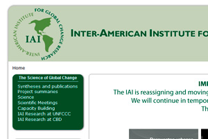 Inter-American Institute for Global Change Research (IAI).