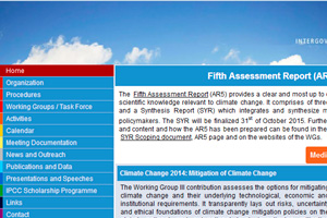 Intergovernmental Panel on Climate Change (IPCC).