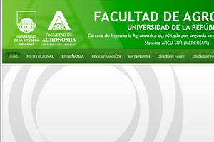 Facultad de Agronomía, UdelaR.